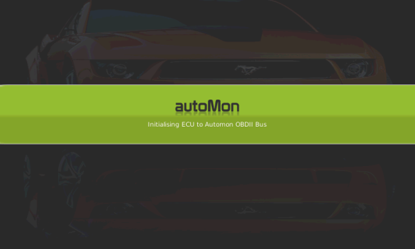 Automon Splash Screen with status updates